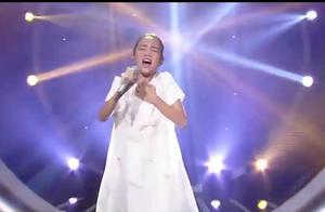 黄毛丫头挑战韩红《天亮了》,开口就超越原唱,韩红被打脸了