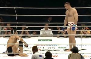 日本人最耻辱的一次格斗比赛,比赛中被吓瘫软在地15次!
