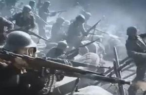 经典二战电影激烈片段,还原战争惨烈场面,看后必将让你热血沸腾