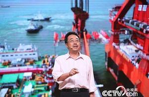 """《开讲啦》港珠澳大桥总工苏权科:在伶仃洋上打一枚""""中国结"""""""