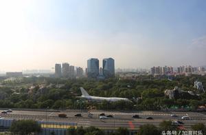 """国航退役波音747""""迫降""""石景山游乐园 或被改成娱乐设施"""