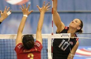 美国杯排球赛中国女排0-3遭美国横扫 朱婷休战张常宁首发