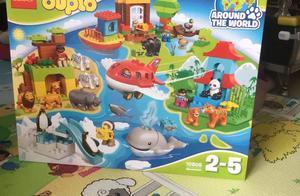从此钱包是路人:LEGO 乐高 Duplo得宝系列 10805 环球动物大集合