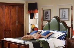 全根家具 美式家具的床为什么有四根柱子?