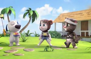 安吉拉与汤姆:汉克狗现场教学,如何正确的和猴子们合影