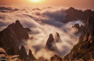 大美黄山,山岳风景中心位出道