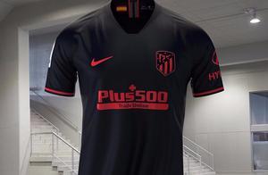 耐克发布马德里竞技2019/20赛季客场球衣