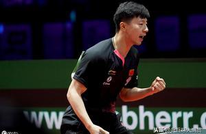 赢了!马龙4-1战胜张本智和,中国队会师男单决赛,锁定第三冠