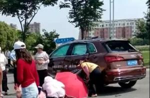 奥迪Q5又出事!淮安奥迪4S店试驾致1死4伤,这次事故该谁担责?