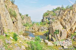 济南名山,海拔81.8米,因盛产石料曾差点消失,今却成独特景观