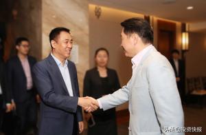 崔泰源邀许家印考察SK集团,双方达成合作意向