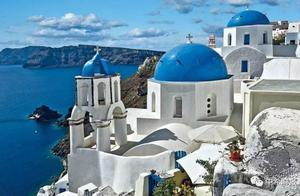 """希腊圣托里尼获评""""欧洲最佳岛屿"""""""