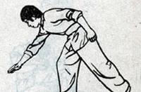 武术侧滚翻抢背之侧滚翻动作要领和分解动作图解教学