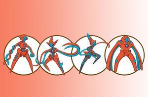 盘点《精灵宝可梦》中拥有四种形态的宝可梦