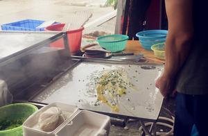 广东最美早餐:4块钱1份的石磨肠粉,带大家看一下如何制作的