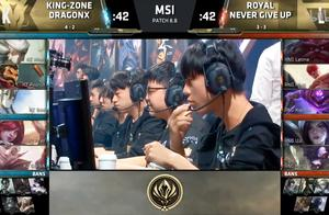 Msi小组赛第4比赛日:RNG连斩KZ、FW集锦速看