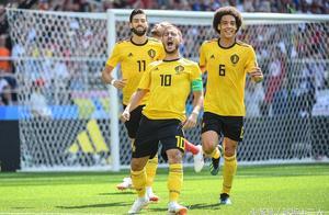 世界杯再现尴尬一幕:比利时前锋犹如武磊附体,5分钟打丢3次空门