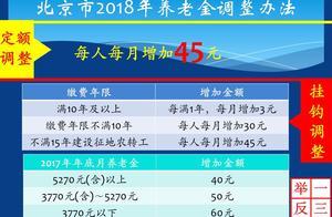 北京养老金上涨好消息,按新办法调整,退休人员非常满意
