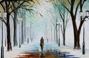心理测试:4幅油画,哪幅最幸福?测你这辈子是拥有财富还是爱情