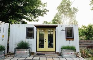 集装箱系列11 Airbnb的出租民宿房 环保再生材料 集装箱设计改造