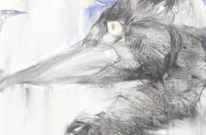 画家赵怡文,一念之间,万物生或死;一芥之间,宇宙存或灭