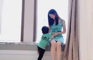 陈晓为老婆陈妍希庆生晒照,没想到陈妍希的腿走红了