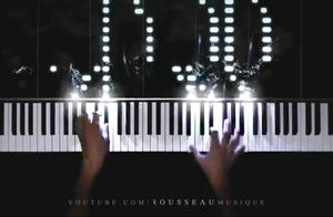来自贝多芬的绝杀王者时刻,钢琴折磨神曲《月光》荧光钢琴版!