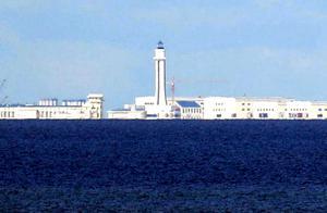 南沙群岛渚碧岛,岛上有400座独立建筑物,是永暑、美济2倍多