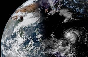 玉兔即将加强为强台风,冲击17级超强台风!美国塞班岛大难临头