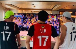 周杰伦祝贺林书豪拿到NBA总冠军