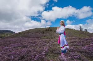 每年特批1000人进入的香格里拉秘境,紫色风暴来袭,美到惊艳!