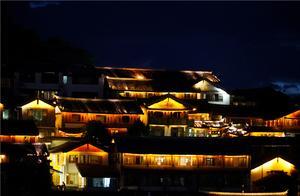来过丽江,你看过狮子山的夜色吗?