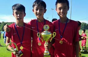 中国足球希望:中国U13国少欧洲参赛夺冠,6战打入24球0失球