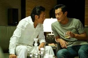 《追龙2》四位影帝同台飚戏,61岁梁家辉日常催婚49岁古天乐