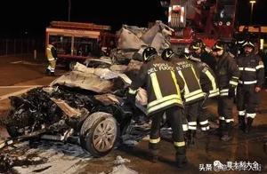 悲剧!意大利高速路发生致命事故,一对夫妻当场死亡