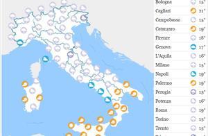 意大利三十年最冷五月来袭!恶劣天气仍将持续!