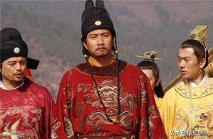 大臣抱着朱元璋的腿,哭道:我不愿离开你!朱元璋封他为第一功臣