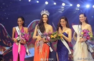 2019泰国环球小姐选美大赛冠军出炉