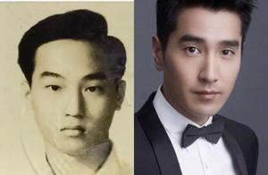 男星和爸爸的照片: 赵又廷和爸爸长得好像,何炅的爸爸超优秀!