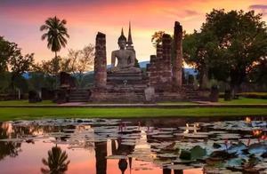 """素可泰,""""幸福的曙光"""",被遗忘在时间里的千年泰国古城"""