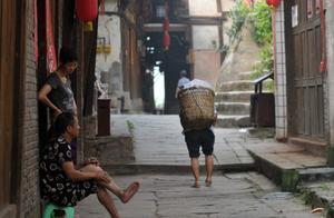 时光的记忆:重庆江津县中山古镇