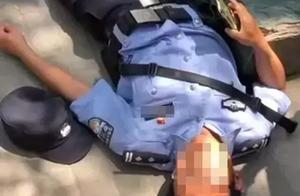 太恶劣!北京男子溜大型犬拒查,还辱骂抱摔44岁民警致其腰椎重伤