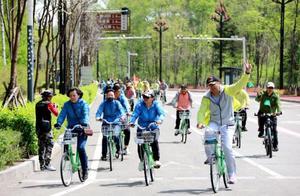 2019环长白山森林自行车骑行活动开幕