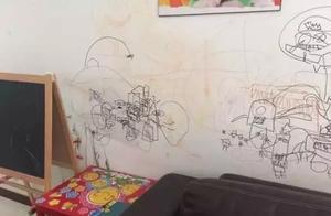 墙壁总被熊孩子画脏!孙俪邓超是这么处理的,不妨来学习一下