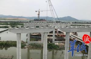 最新动态!汕揭高速棉城河特大桥预计6月底贯通