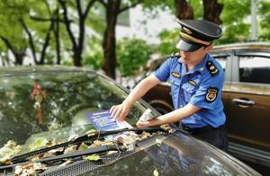 """株洲人行道违停处罚系统上线首日,420台车辆""""吃""""罚单,有你的吗?"""