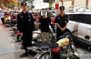 """非法改装""""驶不得""""!57台非法改装摩托车被平南警方查扣"""