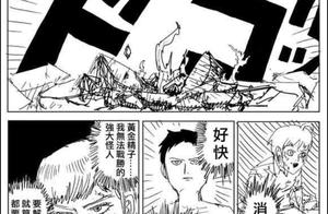 一拳超人:饿狼对战黑精,龙上怪人对战神级怪人,黑精扑街