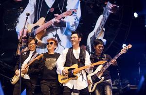 曾和谭咏麟一个乐队,经商破产欠2亿,65岁开演唱会仍是座无虚席