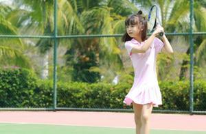 田亮晒出森碟受伤照,练习网球练到双脚起泡,森碟将进军网球界?
